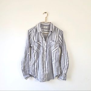 824cd2dff Thread and Supply small striped button down 3/4